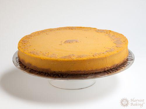 New York Pumpkin Cheesecake with Gingersnap Crust 4