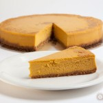 New York Pumpkin Cheesecake with Gingersnap Crust 3