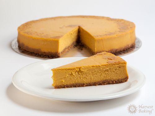 New York Pumpkin Cheesecake with Gingersnap Crust 3