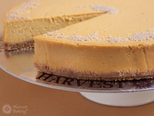 New York Pumpkin Cheesecake with Gingersnap Crust 1