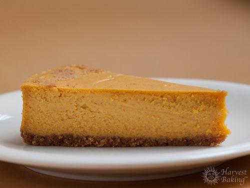 New York Pumpkin Cheesecake with Gingersnap Crust 2