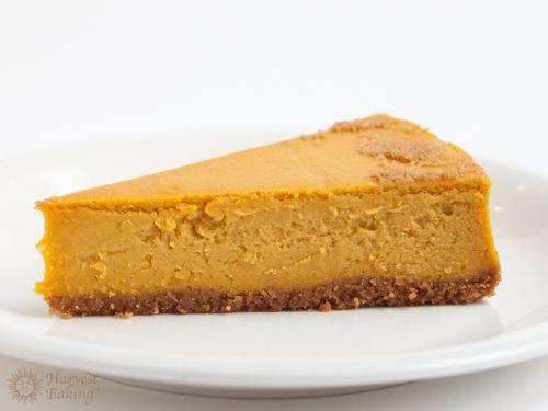New York Pumpkin Cheesecake with Gingersnap Crust 5