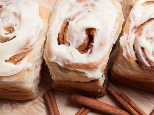 Cinnamon Rolls with Cream Cheese Icing (3 pack) 3