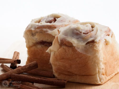 Cinnamon Rolls with Cream Cheese Icing (3 pack) 1