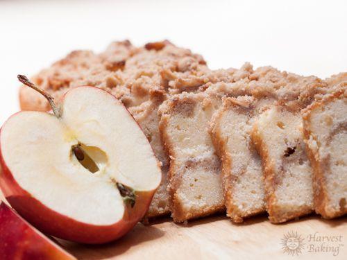 Apple Streusel Loaf Cake 1