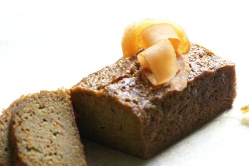 Carrot Loaf Cake with Cream Cheese Icing and Walnuts 2