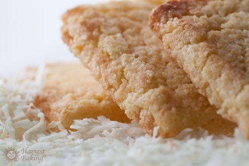 Coconut Shortbread Cookies 1