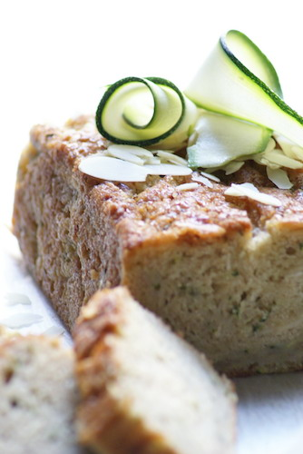 Zucchini Almond Loaf Cake | Harvest Baking