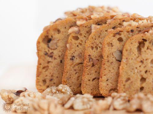 Pumpkin Walnut Loaf Cake 1