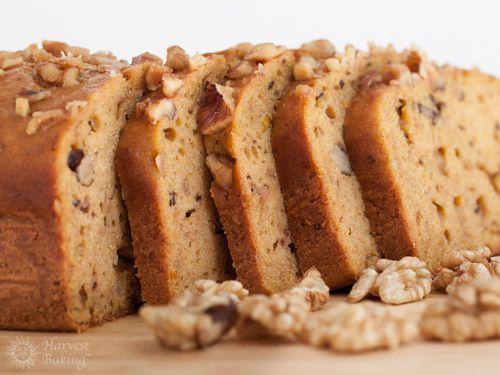 Pumpkin Walnut Loaf Cake 4