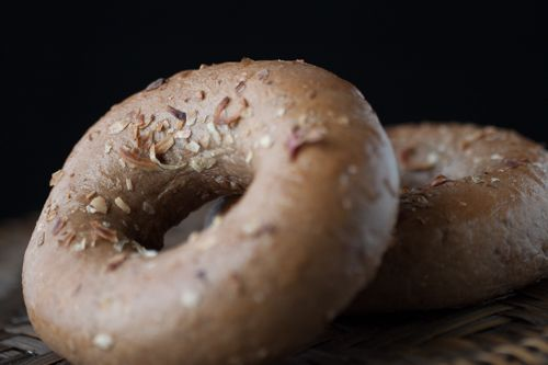 Rye Caraway Onion Bagel 3