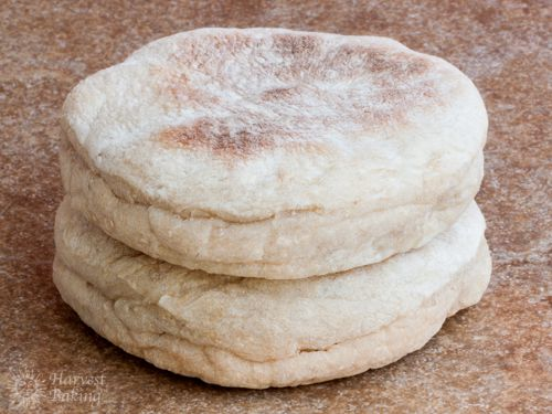 Whole Wheat English Muffins 2