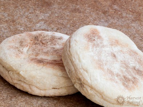 Whole Wheat English Muffins 3