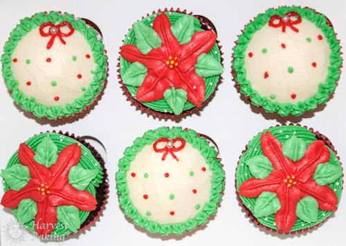 Christmas Cupcakes (6 pack) 1