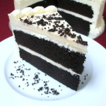 Black and White Chocolate Cake 2