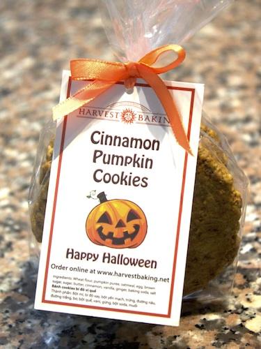 Cinnamon Pumpkin Cookies Gift Pack 2