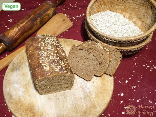 Organic Wholemeal Bread (Vegan) 1