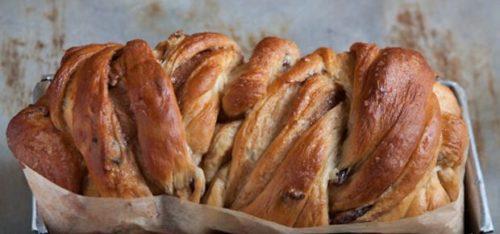 Cinnamon Raisin Swirl Bread 1
