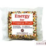 Tropical fruit energy bars