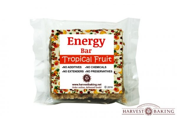 Energy bar: Tropical fruit